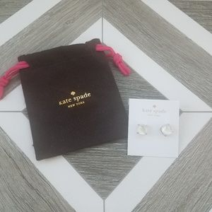 NWT Kate Spade Silver Stud Earrings